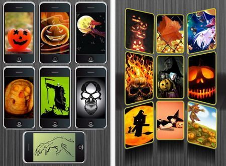 Sfondi iPhone: Haunted Halloween Wallpapers disponibile gratis sull'App Store