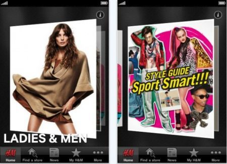 H&M per iPhone