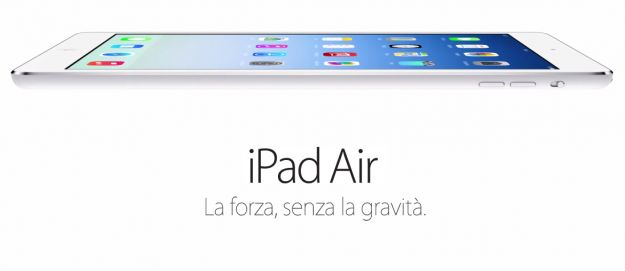 iPad Air: prezzo e disponibilità