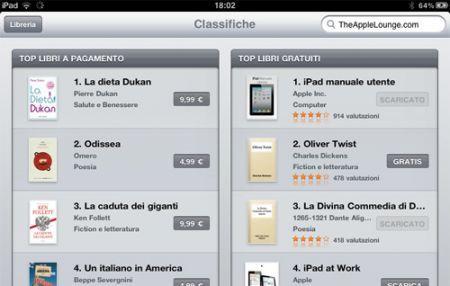 iBook Store apre anche in Italia