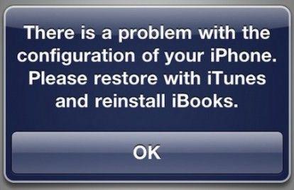 Jailbreak Untethered iOS 4.3.2, i0n1c informa: tornano i problemi con iBooks