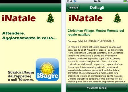 iNatale per iPhone