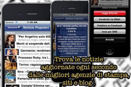 iNotiziario, tutti i giornali d'Italia su iPhone e iPad