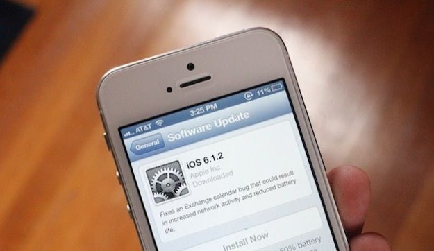 iOS 6.1.2: aggiornamento correggi-bug