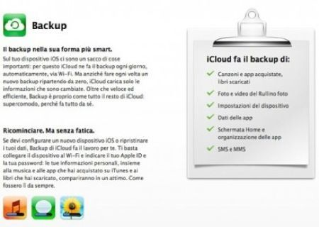 iOS 5 fa il backup Wi-Fi