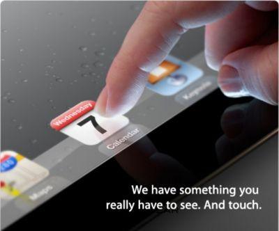 UFFICIALE: iPad 3 sarà presentato il 7 marzo a San Francisco