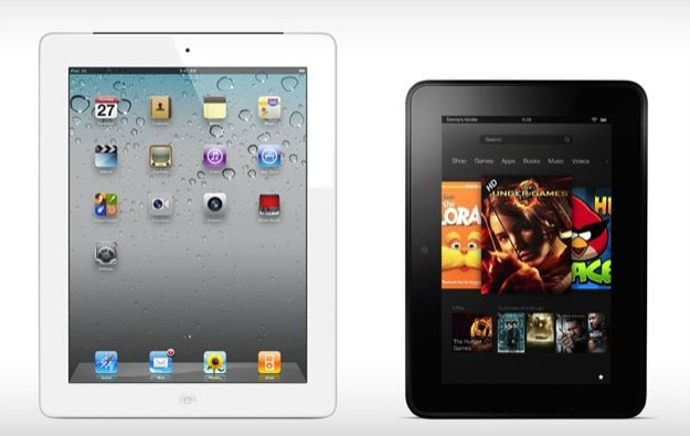 Kindle Fire HD vs iPad 4: confronto tra i due super tablet in uno spot Amazon [VIDEO]
