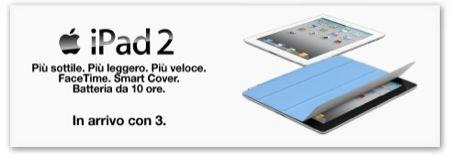 iPad 2, anche 3 offrirà presto una tariffa speciale