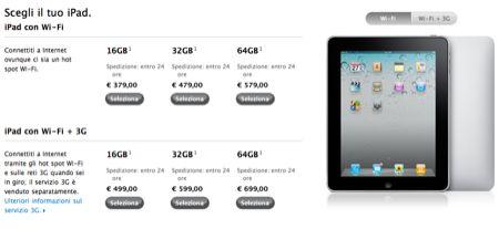iPad scontato sul sito ufficiale della Apple