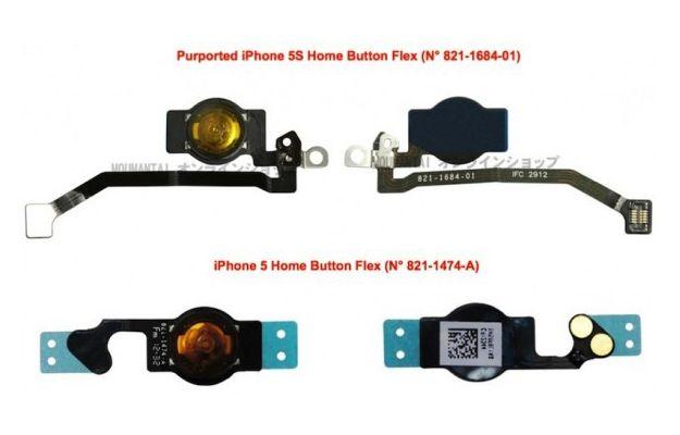 iPhone 5S, foto tasto Home con lettore di impronte digitali?