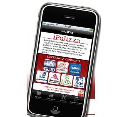 Applicazioni iPhone iPolizza