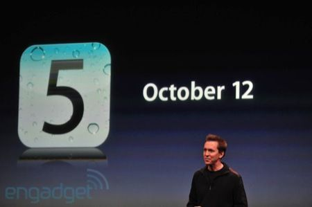 iPhone 5, diretta LIVE: iOS 5 sarà disponibile a partire dal 12 ottobre