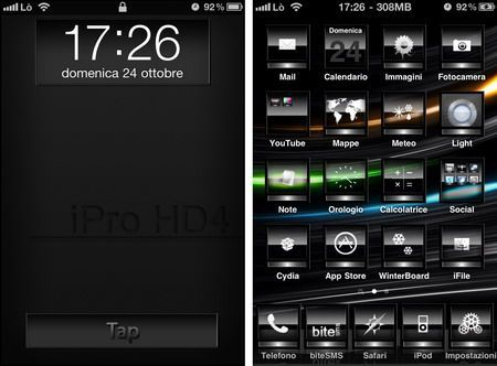 Tema iPhone iPro HD4