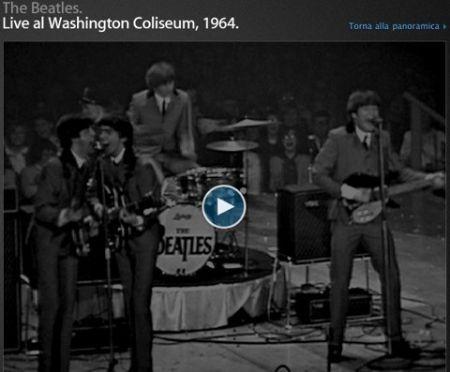 Concerto dei Beatles al washington Colosseum