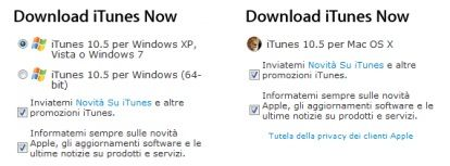 Apple rilascia iTunes 10.5