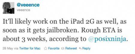 Jailbreak iPad 2 vicino al rilascio ufficiale