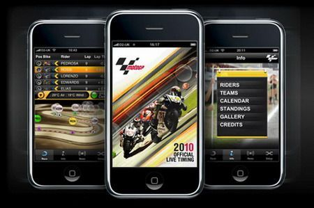 MotoGP 2010 Official Live Timing