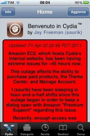 Saurik spiega i recenti problemi avuti da Cydia
