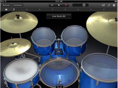 Apple rilascia GarageBand per iPad nell'App Store