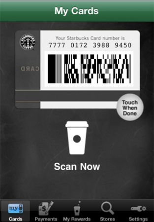 App ufficiale di Starbucks Coffee
