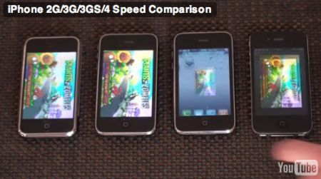 iPhone's compare tests