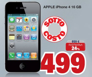 iphone 4s bianco prezzo unieuro