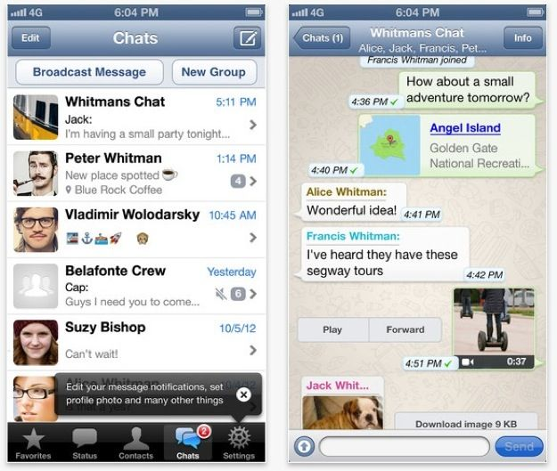 Whatsapp finalmente compatibile con iPhone 5