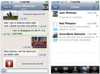 WhatsApp Messenger si aggiorna alla v. 2.6.3 con molte novità