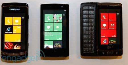 Windows Phone 7 Series: Samsung, LG