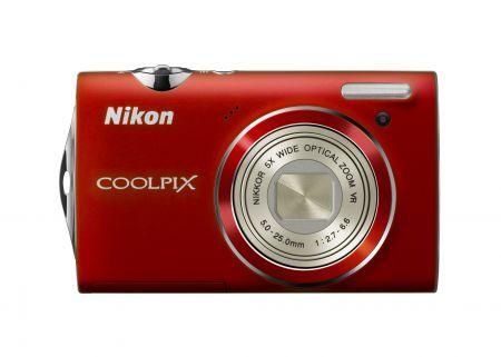 Nikon Coolpix S5100: fotocamera pratica e colorata come regalo di Natale
