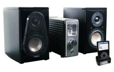Knopex i-T2: sistema Hi-Fi con diffusori in legno come idea regalo