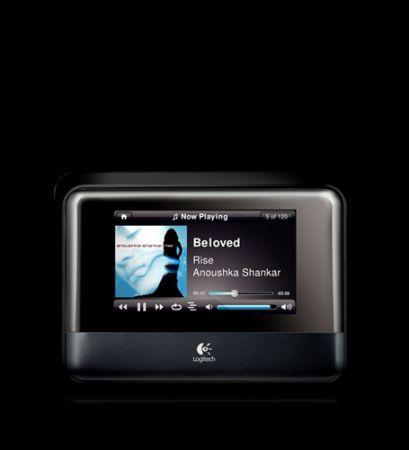 Logitech Squeezebox Touch: lettore musicale WiFi con schermo tattile per Natale