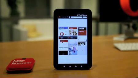 Anticipazioni CES 2011: Opera mostra un browser per tablet