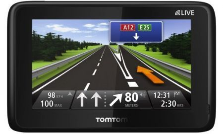 TomTom Go Live 1000: navigatore satellitare con display capacitivo