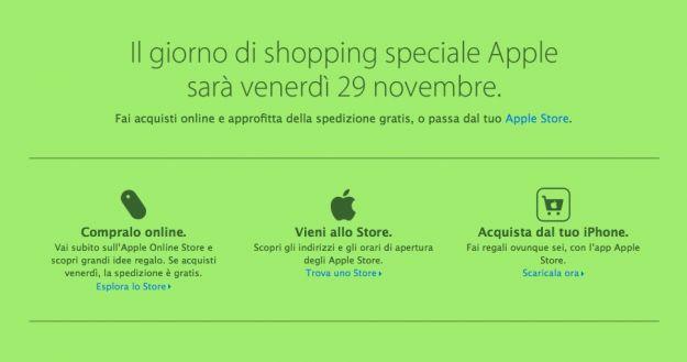 Apple Black Friday 2013: tutti gli sconti per Natale
