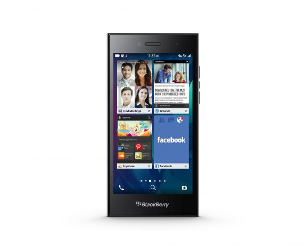 BlackBerry Leap, si torna al design full touch