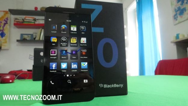 Blackberry Z10 videorecensione