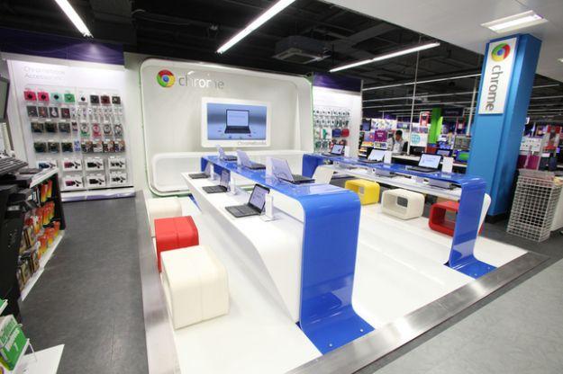 Google Store fisici