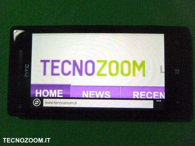 HTC 8X navigazione web