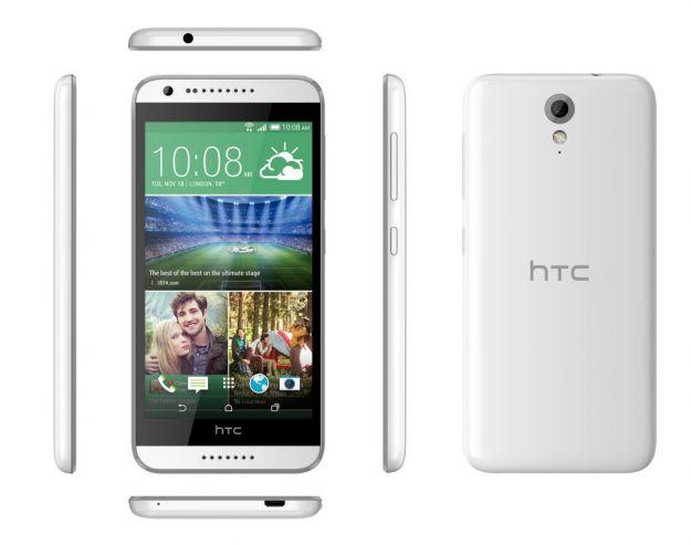 HTC Desire 620, fascia media colorato e prestante