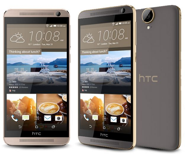 HTC One E9+ ufficiale: schermo Quad-HD e processore MediaTek