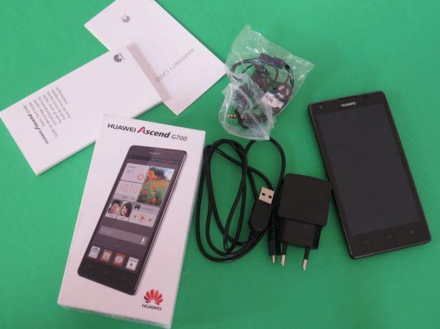 Huawei Ascend G700 interno confezione acquisto