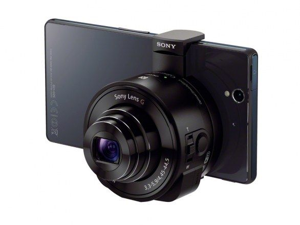 Intel Sony QX10 QX100