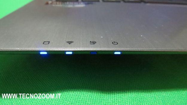 LED notifiche e status