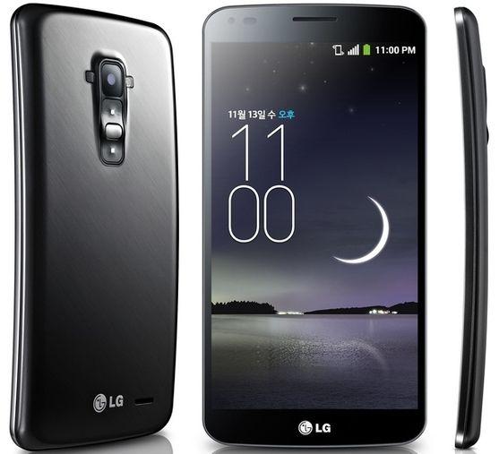 LG Optimus GJ con modella in acqua