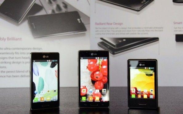 LG Optimus L3 II L5 II L7 II