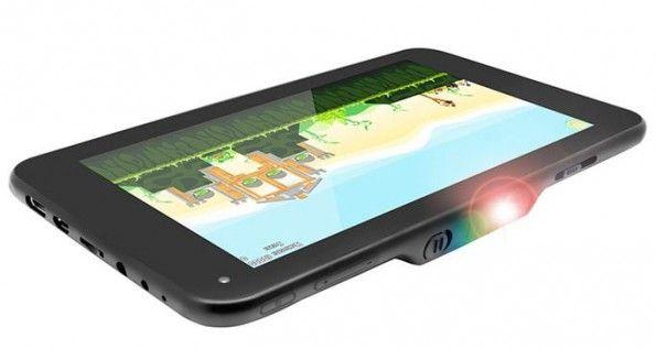 LumiTab, il primo tablet Android con proiettore