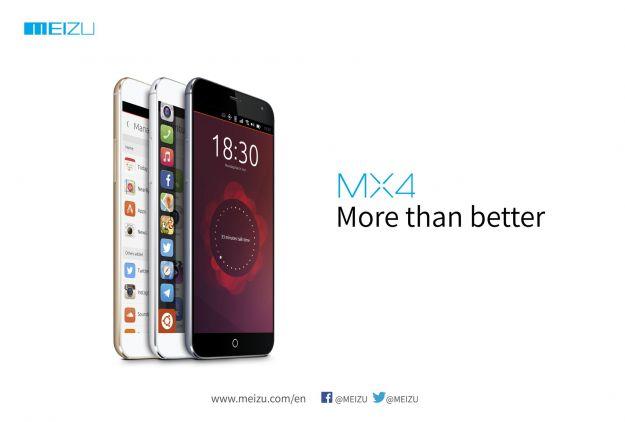 Meizu MX4 Ubuntu, ufficialmente al MWC 2015