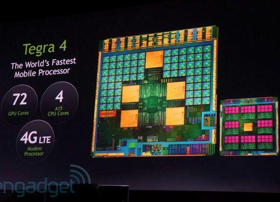 Nvidia Tegra 4: processore mobile più veloce al mondo, al CES 2013