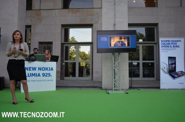 Nokia Lumia 925 alla presentazione italiana